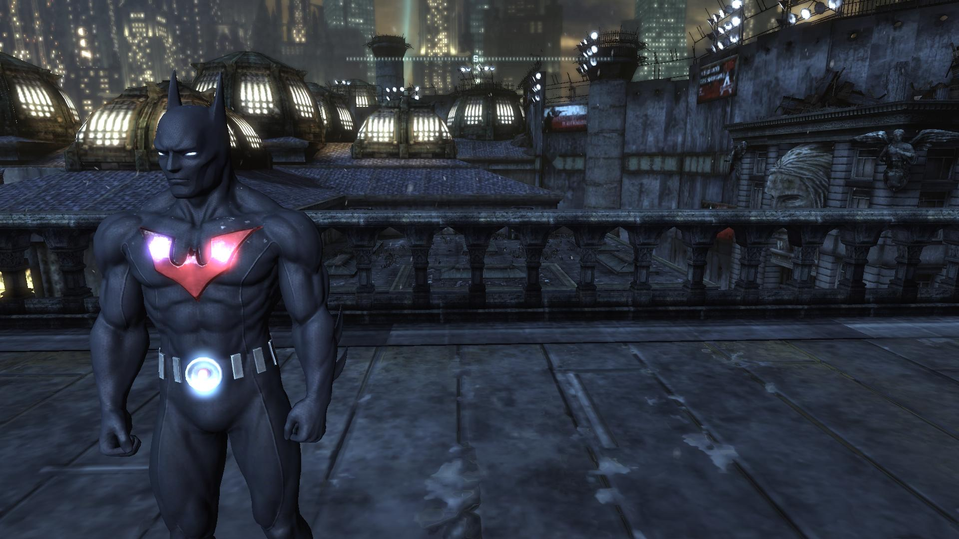 Batman arkham city batman skins