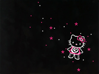 Hello Kitty Wallpaper Pink And Black