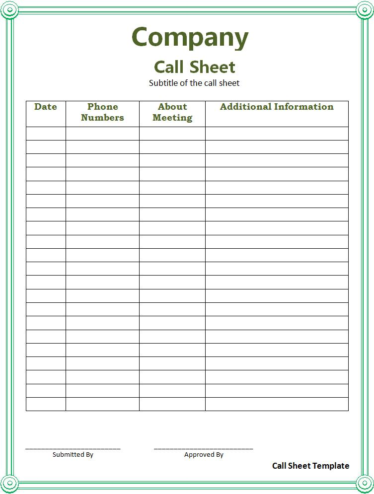 Doc699855 Make a Signup Sheet create a sign in sheet Template – How to Make a Sign in Sheet in Word