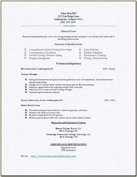 best ideas about nursing resume on pinterest rn resume er nurse resume emergency room nurse resume - Example Of Nurse Resume